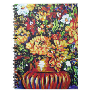 floral with a southwest flair note book