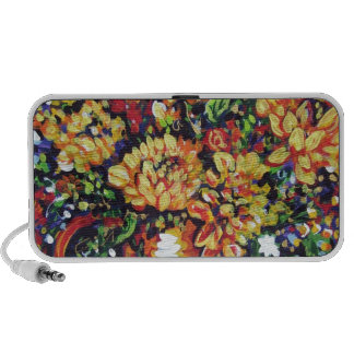 floral with a southwest flair iPhone speakers