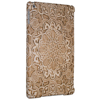 floral wood carving cover for iPad air