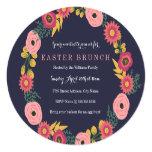 Floral Wreath Easter Brunch Card