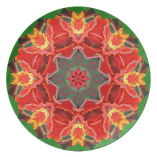 Floral Wreath! Party Plate