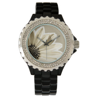 floral wrist watches