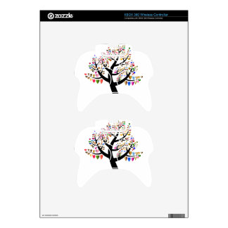 floral xbox 360 controller decal