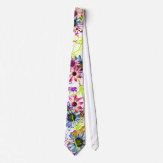 Floral y flores corbatas personalizadas