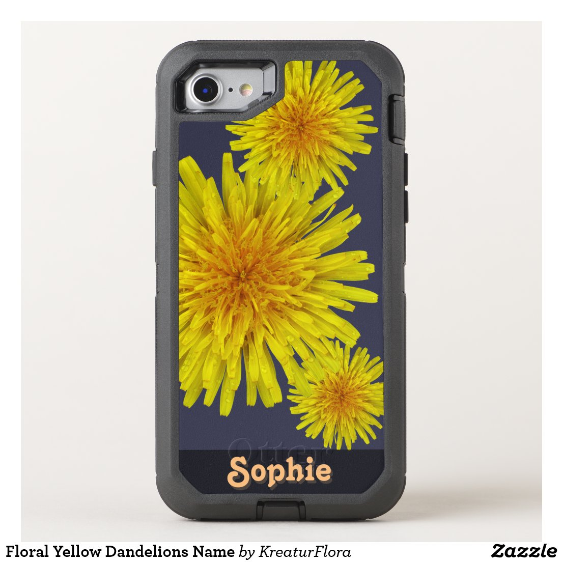 Floral Yellow Dandelions Name