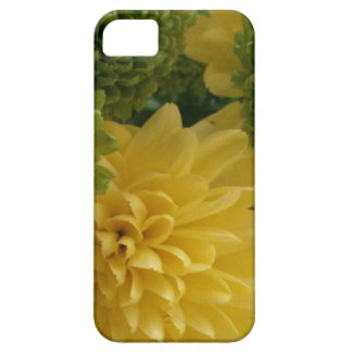 Floral yellow/green iPhone SE/5/5s case
