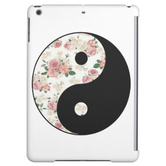 Floral Yin and Yang iPad Air Cases