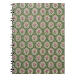 Floral Zuber et Cie wallpaper, 1890-1910 Notebook