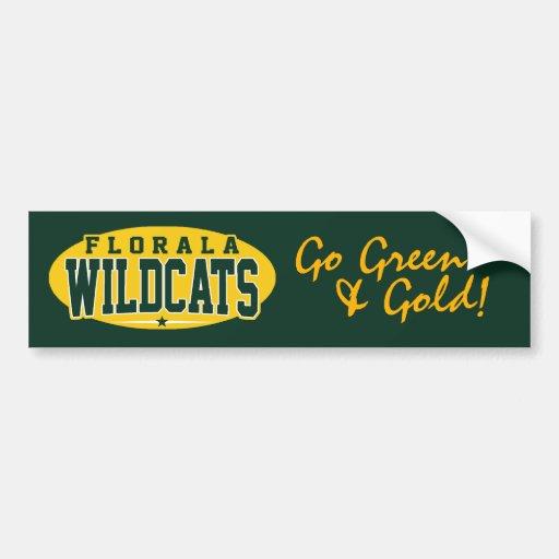 Florala High School; Wildcats Bumper Sticker