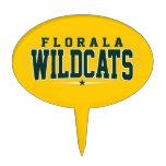 Florala High School; Wildcats Cake Topper
