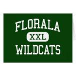 Florala - Wildcats - High School - Florala Alabama Greeting Cards