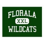 Florala - Wildcats - High School - Florala Alabama Postcard