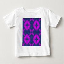 floralblue2.jpg baby T-Shirt