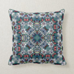 Floralia Kaleidoscope Design No 06 Throw Pillow