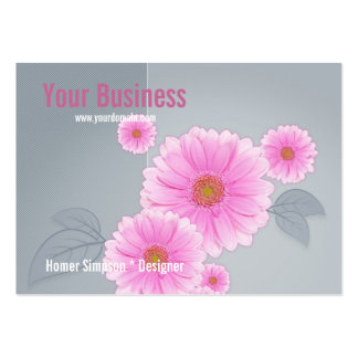 Floralie Large Business Cards (Pack Of 100)