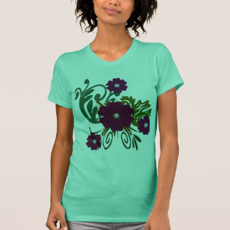 FloralJazz Tee Shirt Design1