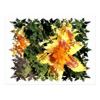 Florals 002 postcard