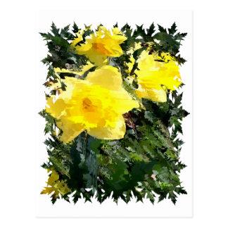 Florals 003 postcard