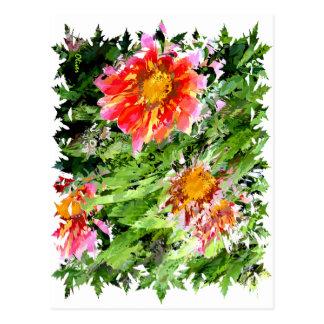 Florals 004 postcard
