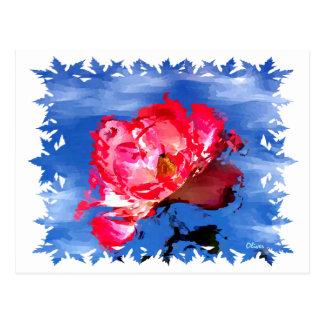 Florals 009 postcard