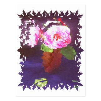 Florals 012 postcard