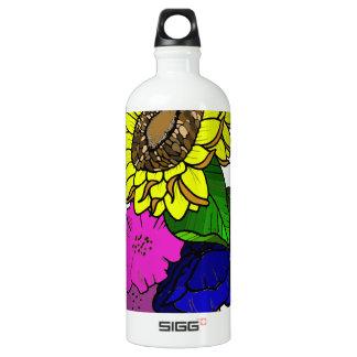 Florals Aluminum Water Bottle
