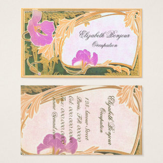 Florals - Business Card