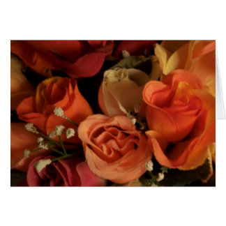 Florals By G Elle Rosey Peach Card