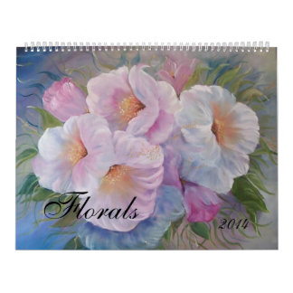 FLORALS  Calendar