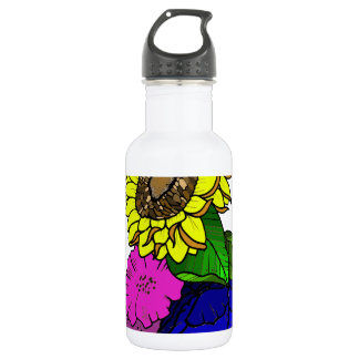 Florals Stainless Steel Water Bottle