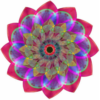Floramoeba Rose Cutout