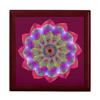 Floramoeba Rose Mandala Jewelry Boxes