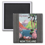 Flords Otago Southland South Island Newzealand, Vi Refrigerator Magnets
