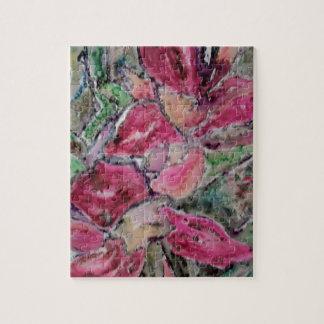florece al amante puzzle con fotos