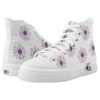 Florece la decoración zapatillas