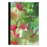 Florece la tarjeta de cumpleaños floral
