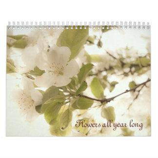 Florece todo el calendario largo 2013 del año