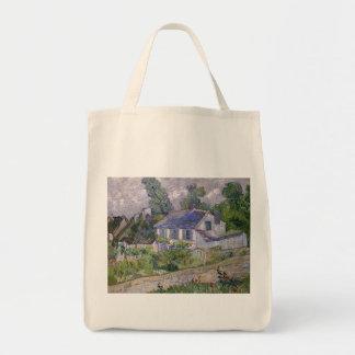 florece verde de las plantas de vides de los bolsa tela para la compra