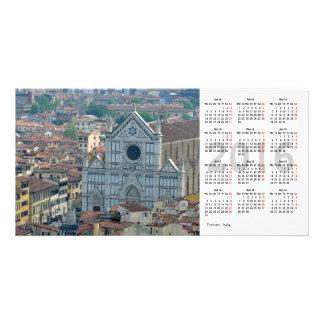 Florence  2016 Calendar Photo Card