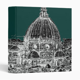 Florence architecture drawing binder