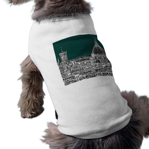 Florence architecture drawing dog clothing