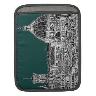 Florence architecture drawing iPad sleeve