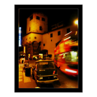 Florence at Night Posters