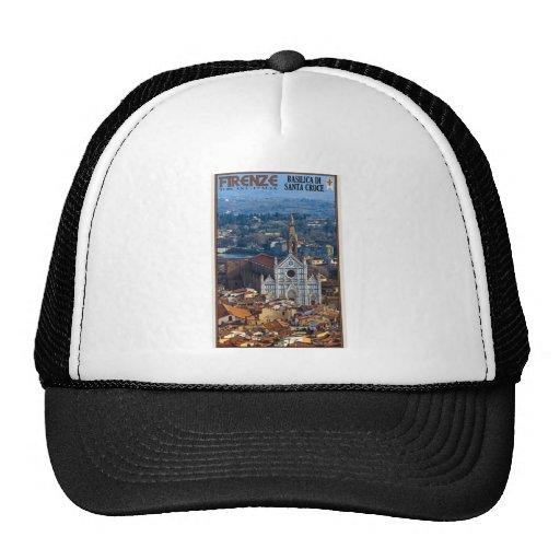 Florence - Basilica di Santa Croce Mesh Hats