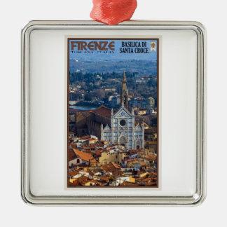 Florence - Basilica di Santa Croce Christmas Ornament