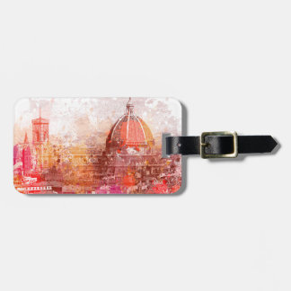 Florence - Basilica of Saint Mary of the Flower Travel Bag Tag
