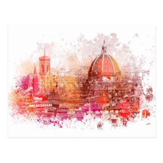 Florence - Basilica of Saint Mary of the Flower Postcard