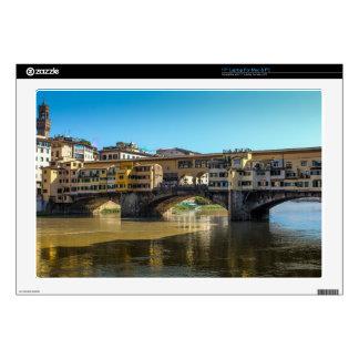 "Florence bridge decal for 17"" laptop"