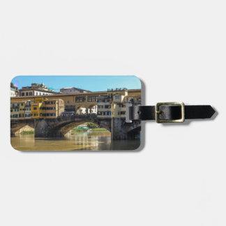 Florence bridge luggage tag