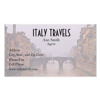 Florence Bridge With Love Quote Business Card